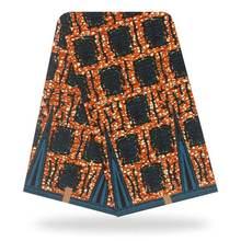 100% хлопок восковая ткань в африканском стиле настоящая Высококачественная