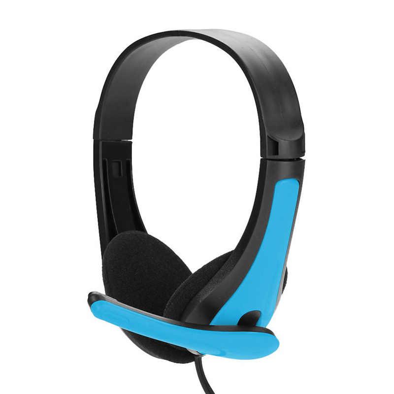 אופנה משחקי אוזניות סטריאו בס באיכות גבוהה אוזניות עם מיקרופון למחשב מחשב גיימר MP3 נגן