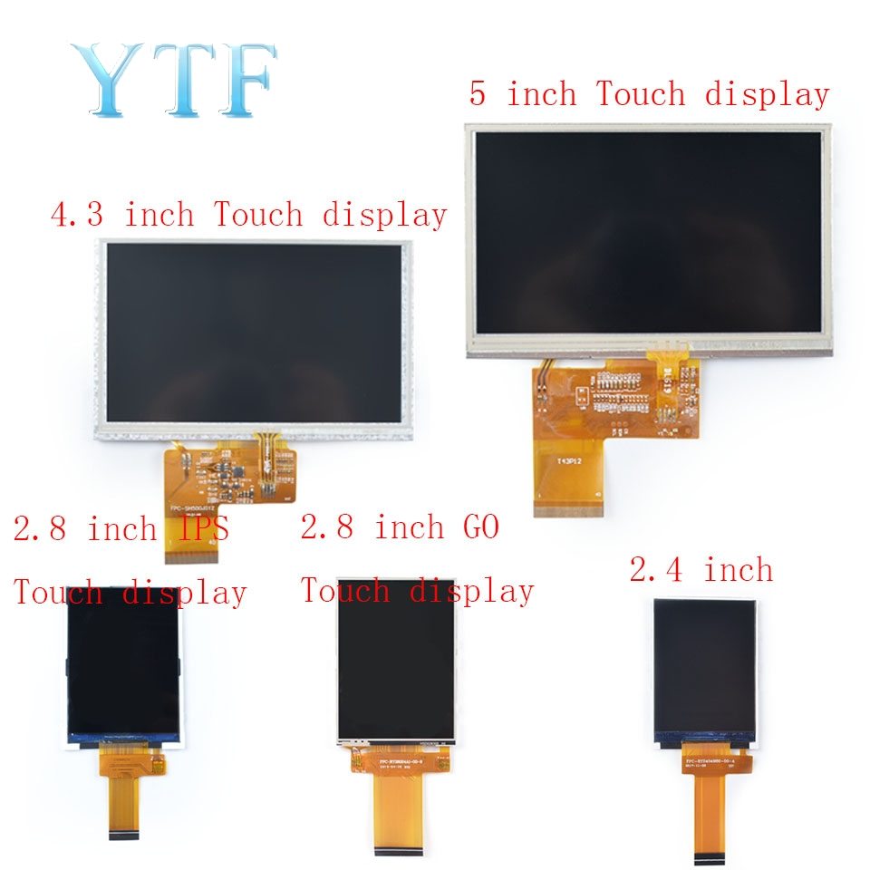 Lychee Send Touch Display Module 2.4 / 2.8 / 4.3 / 5-inch Screen For Nano Zero