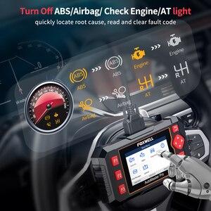 Image 3 - Foxwell NT604 Elite OBD2 Scanner Automotive Auto Diagnose Werkzeug ABS SRS Airbag Freies Update OBD2 Diagnose Scanner Professional