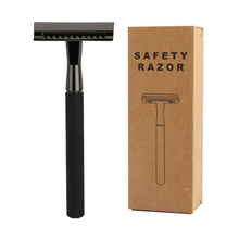 HAWARD Reusable Eco Friendly Safety Razor For Men&Women Hair Removal With 20 Shaving Blades Natural Sustainable Bathroom Shaver