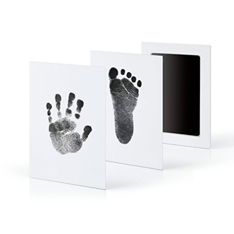 12.5*8CM Newborn Baby Handprint Footprint Ink Non-Toxic Touch Ink Pad DIY Photo Frame Souvenir Girl Boy Infant Decoration Toy