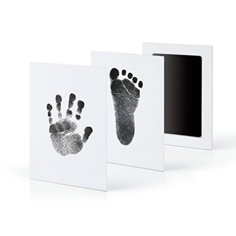 12.5*8CM Newborn Baby Handprint Footprint Ink Non-Toxic Touch Ink Pad DIY Photo Frame Souvenir Girl Boy Infant Decoration Toy