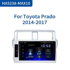 "Image 1 - Dasaita 1 Din Android 10.0 Car Radio GPS Navigation for Toyota Prado 2014 2015 10.2"" IPS Bluetooth 1024*600 64GB ROM"