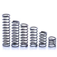 10PCS Compression Spring Pressure Spring Wire Dia1.2mm Outer Dia15mm Length 10 15 20 25 30 35 40 45 50mm