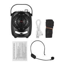 TRanshine LY-021S Многофункциональный портативный мини аудио усилитель голоса с UHF беспроводной микрофон Поддержка FM/MIC/BT