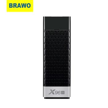 BRAWO Smart TV Stick Android 9 0 TV pudełko X96S procesor Amlogic S905Y2 DDR3 4GB 32GB X96 Mini PC 5G WiFi BT 4 2 telewizor Dongle 4K odtwarzacz multimedialny tanie i dobre opinie CN (pochodzenie) Wliczone w cenę Normalne Hdmi Przystawka TV 100 gb 1080 p (full hd)
