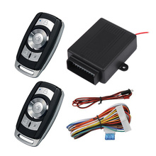 1 Set of Car Alarm System Smart Remote Central Locking System for Car Auto Vehicle