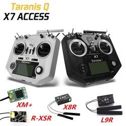 FrSky доступа Taranis Q X7 2,4G 16CH левый Дроссельный радиопередатчик XM +/R-XSR/X8R/L9R приемник для FPV RC беспилотный самолет