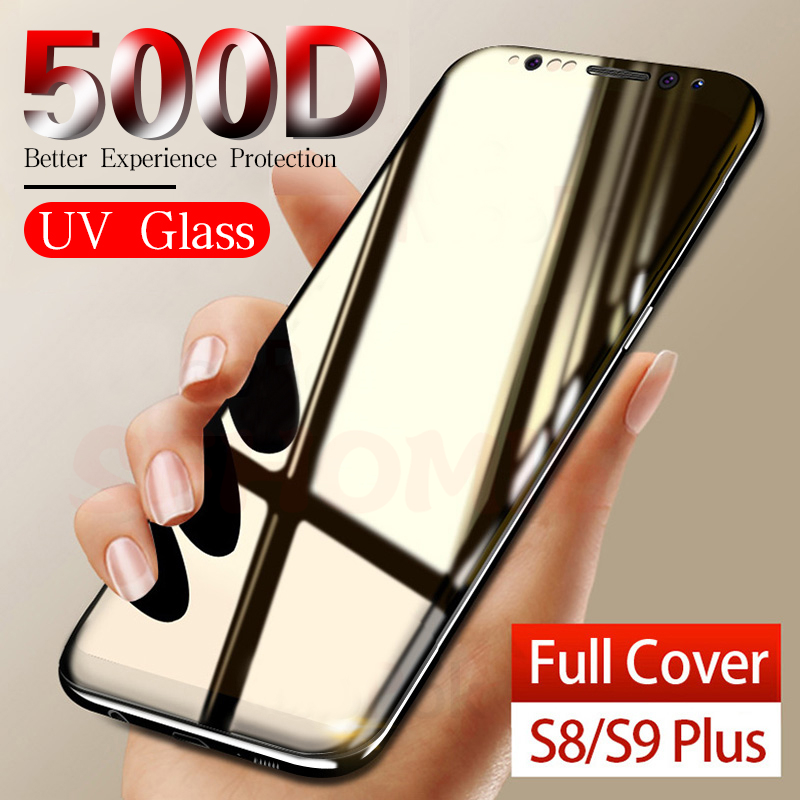 107.95руб. 10% СКИДКА|500D УФ защитное стекло для samsung Galaxy S8 S9 S10 Plus S7 Edge S10 E Защита экрана для samsung Note 8 9 10 Plus S9 стекло|Защитные стекла для экрана телефонов| |  - AliExpress