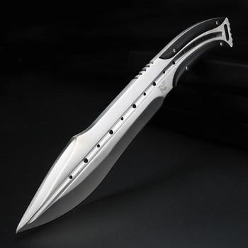 Field Hunting Fishing Knife Diving Knives Full Tang Outdoor Knives Fixed Blade Handmade Knife for Men 1