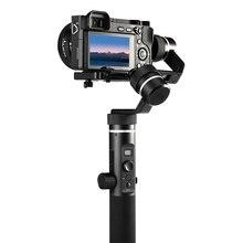 G6 плюс портативный стабилизатор с шарнирным механизмом 3-осевой брызг прокатки регулировки со всех сторон Алюминий сплава для Mirroress DSLR Камера