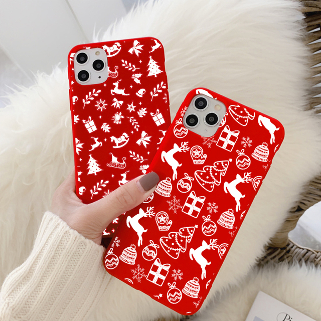 Christmas Cartoon Case for iPhone 12/12 Max/12 Pro/12 Pro Max 2