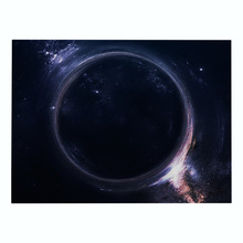Outer Space Drink Coasters Black Hole Printed Kitchen Place mat Dining Table Mat Coaster Cotton Linen Pads Cup Mats Home Decors