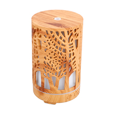Air Humidifier Essential Oil Aroma Diffuser Valentine's Day gift Air Purifier Hollow Cylinder Dropshipping