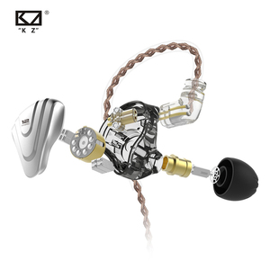 Image 5 - KZ ZSX Metal Earphones 5BA+1DD Hybrid technology 12 driver HIFI Bass Earbuds In Ear Monitor Headphones Noise Cancelling Headset