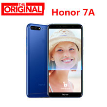 На складе! huawei Honor 7A телефон 5,7 ''Fullview 1440*720 Snapdragon 430 Android 8,0 две sim-карты 13.0MP 3000 мАч LTE смартфон