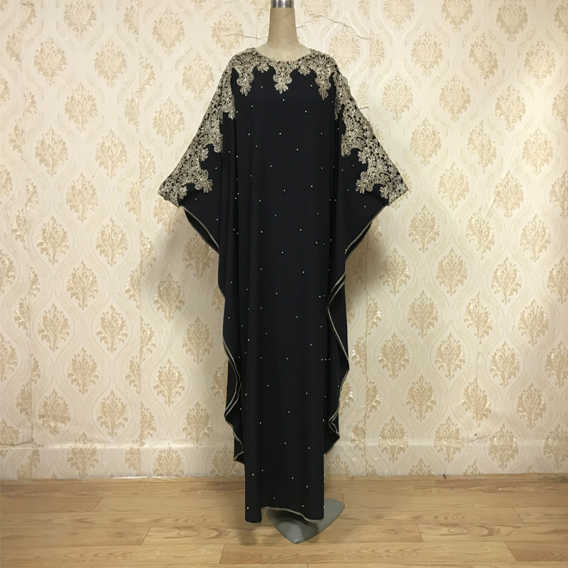F835 Speed Sell Through EBay Sell Like Hot Cakes The Muslim Middle East Dubai Turkey Embroidered Handmade Beaded Batwing Coat Lo