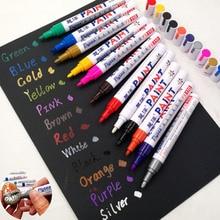 13 цветов белый водонепроницаемый резиновый маркер с перманентной краской ручка автомобильных шин протектора окружающей среды фломастер для окраски шин дропшиппинг