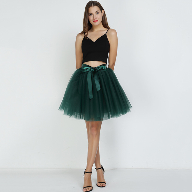 Women's Ball Gown Tulle Skirt