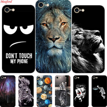 Fajne etui do Apple iPhone SE 2020 etui 4 7 #8222 Cat silikonowa miękka tylna pokrywa dla iPhone SE 2020 etui na telefon do iPhone SE 2020 etui tanie tanio MEAFORD Aneks Skrzynki soft silicone case Apple iphone ów Zwierząt Przezroczysty Floral Odporna na brud Anti-knock fashion cool Animal Flowers phone case For iPhone SE 2020 Cover