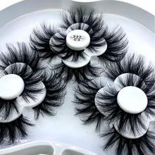 HBZGTLAD 9 Pairs 3D Soft Mink False Eyelashes Handmade Wispy Fluffy Long Lashes Natural Eye Extension Makeup Kit Cilios