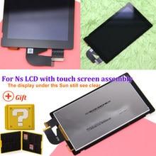 Pantalla LCD n-switch para Nintendo Switch NS, montaje completo de la pantalla táctil, buena transmisión de luz
