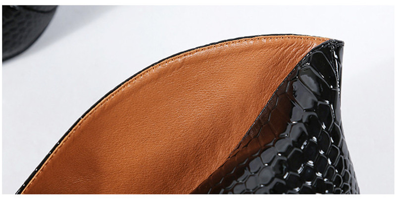Snake Patent Leather Stilettos Pumps Women Shoes Tip Head V Mouth High Heels Women Shoes 2020 Spring Small Thin Heel Lady Pumps (2)