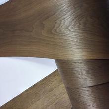 Natural black walnut veneer thin speaker veneer renovation handmade DIY veneer solid wood decorative panel skin cheap CN(Origin) Unfinished Wood