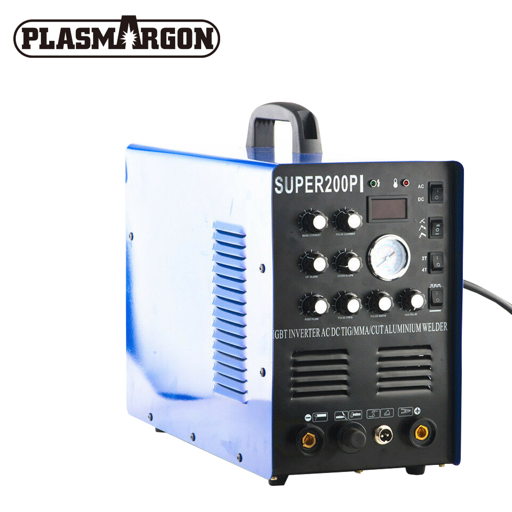 7 in 1 Multi-function TIG/MMA/CUT Super200pi Welder Machine,Plasma Cutter 220v T I G / C U T/ M M A