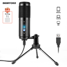 Microphone Pc Computer-Gaming-Phone Sound-Card Studio Karaoke Professional Noise-Reduction