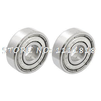 638ZZ 8 X 22 X 7mm Shielded Deep Groove Radial Ball Bearing