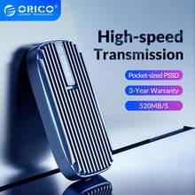 ORICO CN210 Mini Portable SSD 480 GO 240 GO Type-c 520 M/S Externe Lecteur À État Solide M.2 SATA NGFF USB C SSD EXTERNE Disques Durs