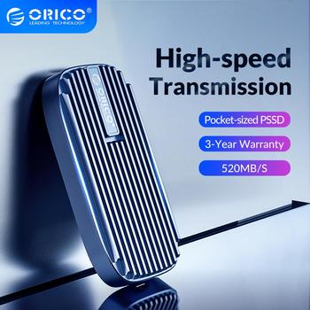 eaget m1 type c 128 256gb type c usb 3 1 external hard disk portable ssd m1 type c mobile solid state drive with data cable ORICO CN210 Mini Portable SSD 480GB 240GB Type-C 520M/S External Solid State Drive M.2 SATA NGFF USB C External SSD Hard Drives