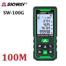 Лазер sndway дальномер Зеленый дальномер 100 м 70 м 50 м дальномер Trena рулетка электронный уровень линейка Рулетка инструмент