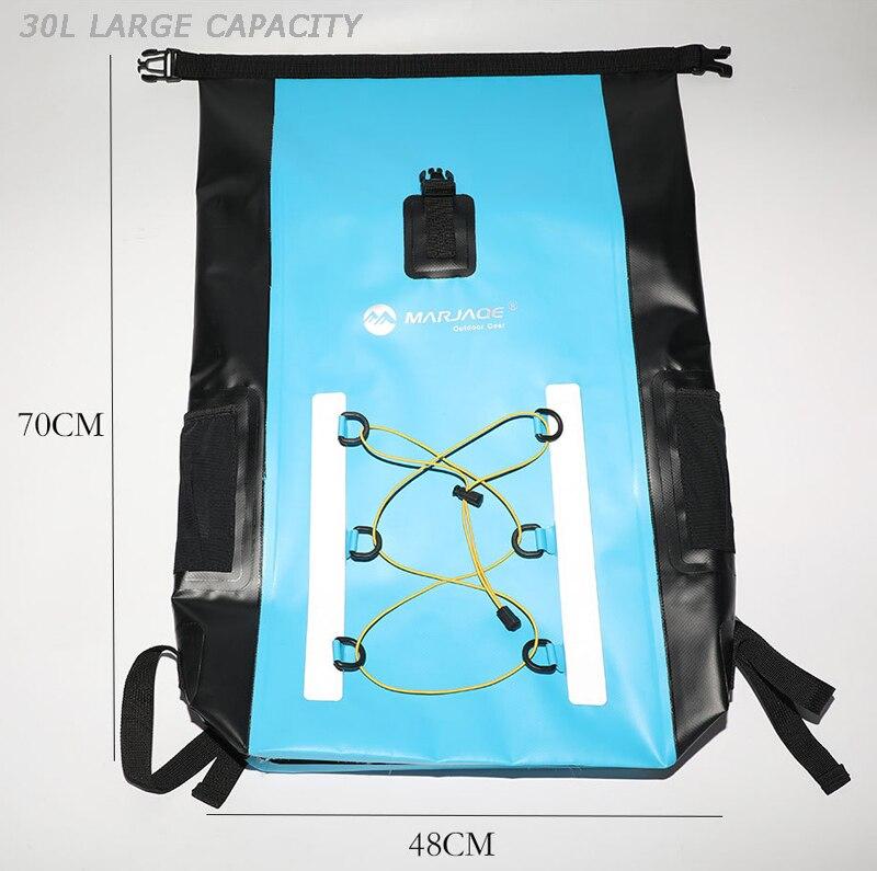 30l saco impermeável mergulho natação seco mochila