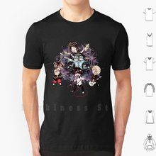Chibi Een Ok Rots T-shirt Print 100% Katoen New Cool Tee Een Ok Rots Oor Chibi Taka Toru Ryota tomoya Muziek Band Rock