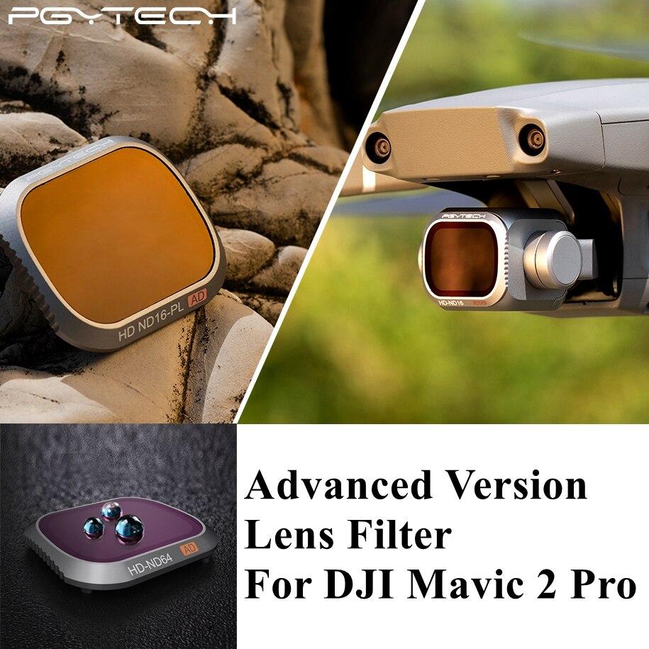 Kit de filtres d'objectif de caméra PGYTECH Advanced Mavic 2 Pro Kit de filtres UV CPL ND4 ND8/16/32/64-PL pour accessoires de Drone DJI Mavic 2 Pro