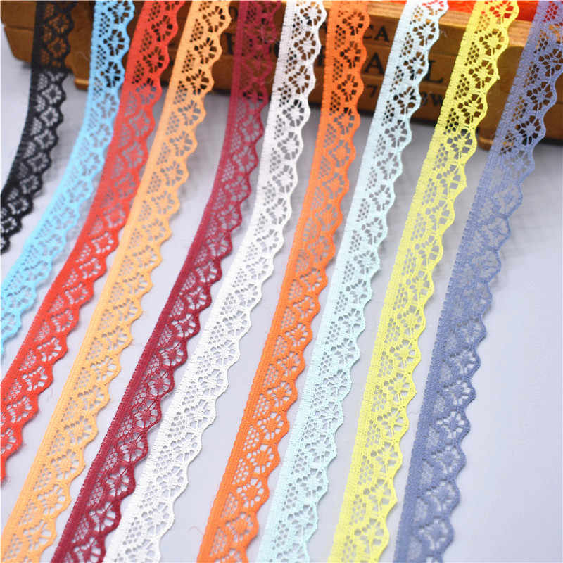 David accessories Lace Trim Ribbon Tape 10 Yards Sewing DIY Craft Lace for Festival Wedding Party Birthday Bridal Shower Decoration and DIY Handmande Accessories Beige