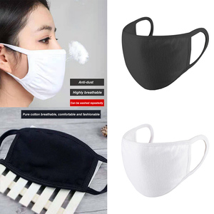 Unisex Dust Proof Windproof Cotton Mouth Mask Breathable Washable Men Women Mask Face Cover