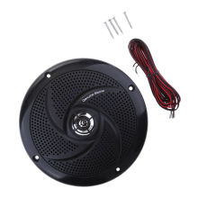 Boat Waterproof Speaker Sound Auto Modified Horn Round Flush Fitting For Yacht Marine Car RV Camper Etc Boat Accessories Marine