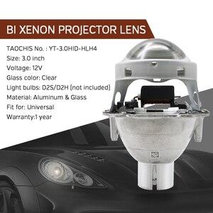 Image 2 - TAOCHIS Auto head light 3.0 inch Bi xenon Projector Lens replace 3R G5 HELLA H4 Lossless installation Non destructive