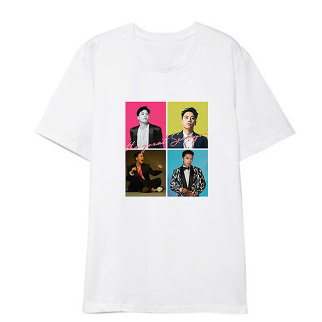 BIGBANG THE GREAT SEUNGRI THEMED T-SHIRT (8 VARIAN)