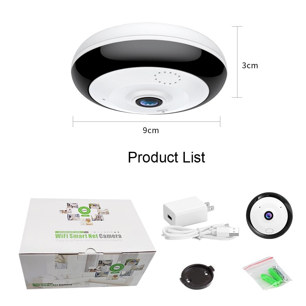 Loosafe 360 shkallë Panoramike Wifi HD Kamera Mbështetje për - Siguria dhe mbrojtja - Foto 6