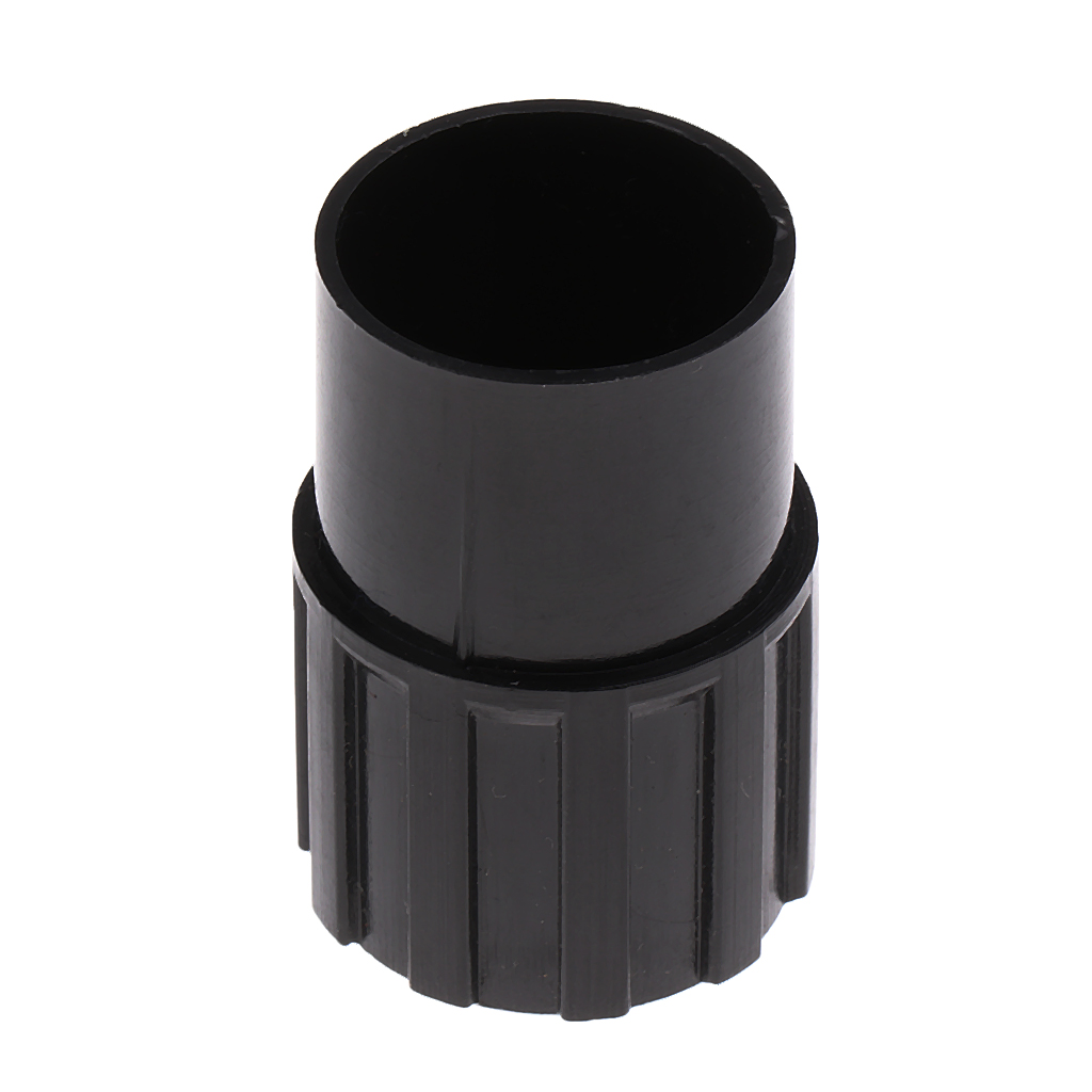 Durable Plastic Tenor Saxophone End Plug Flat B Sax Accessory Black