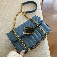 MONNET CAUTHY New Arrivals Bags for Women Classic Chic Style Fashion Messenger Bag Solid Color Blue Black Khaki Red Ladies Flap