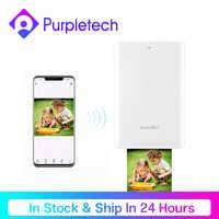 In Stock Original Huawei Pocket Photo Printer HUAWEI Zink Portable AR Photo Printer Print Paper 300dpi Bluetooth 4.1Support DIY
