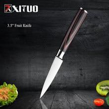 Xituo 3.5 polegada muito afiada faca de frutas 7cr17mov espelho aço faca de cozinha aparas cutelo faca do chef de carne ferramentas de cozinha utilitário