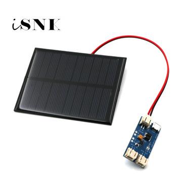 CN3065 Mini Panel słoneczny do ładowania Reuglator wytwarzanie energii elektrycznej z mała słoneczna ładowarka lipo 3 7V kontroler ładowania tanie i dobre opinie SLAR Krzem polikrystaliczny