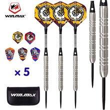 WINMAX – jeu de fléchettes de vol professionnel, pointes de flèches à aiguilles en acier au tungstène 80%, poids 22g 24g, pour accessoires de fléchettes, Sports d'intérieur
